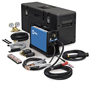 Maxstar 150 STL TIG Welder, DC, 1- Phase, 5 - 150 A Type: W/PROT CASE & ACCY PACK 2 from Miller Electric Mfg Co