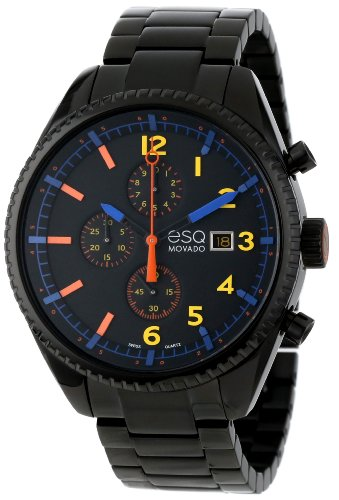 ESQ by Movado Men's 07301452 Catalyst  Black PVD Watch