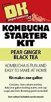 Oregon Kombucha Pear Ginger Black Tea Basic Starter Kit