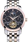 Holuns 自動巻き 腕時計 メンズ ムーンフェイズ トゥールビヨン おしゃれ 人気