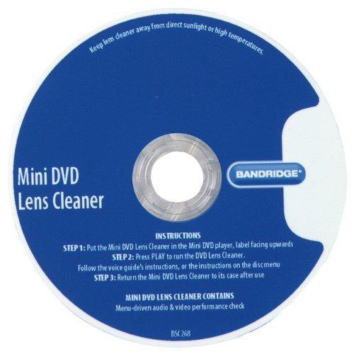 Bandridge Voice Guided Mini DVD Lens Cleaner