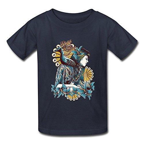 Goldfish Youth Fashion Short Sleeve Mars Red Sky T-Shirt Large