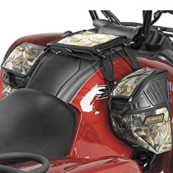 Quadboss XT Tank Saddlebag Organizer Sports ATV Tank Bags - Realtree AP