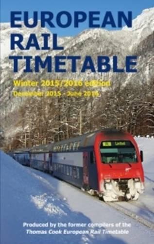 European Rail Timetable Winter
