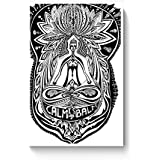 PosterGuy Posters (8X12 Inch) - The Buddha Rests In The Lotus | Designed By: Psyd Effects
