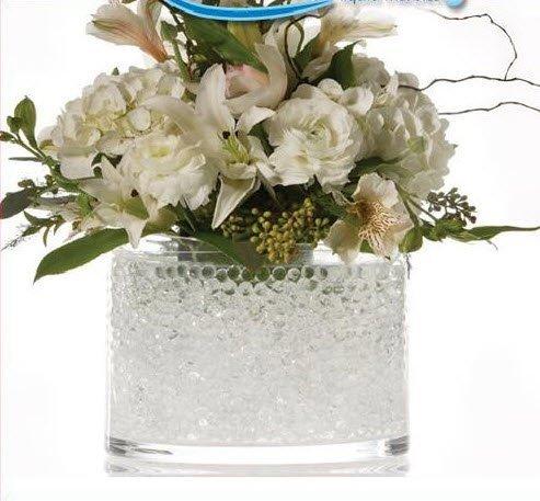 2oz Jelly BeadZ® Water Bead Gel- CLEAR