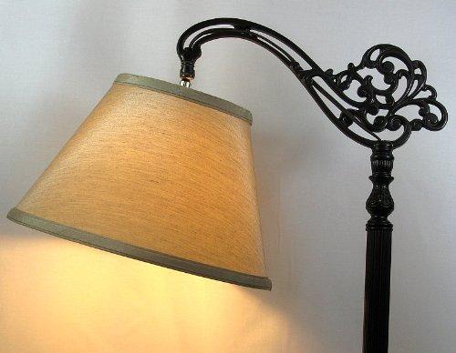 Tan Uno Down Bridge Floor Lamp Replacement Lamp Shade