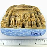 The Great Temple of Abu Simbel Egypt 3D High Quality Magnet Free Shipping