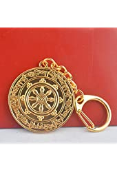 Fengshui Powerful Protection Against 8 Kinds of Black Magic Medallion Keychain + Free Fengshuisale Red String Bracelet W1224