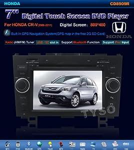 Tyso For Honda CR-V 7 CAR DVD Player (2006-2011) GPS Navigation Navi