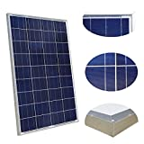 ECO-WORTHY 100 Watt 100w Polycrystalline Polycrystalline Photovoltaic PV Solar Panel Module 12V Battery Charging for RV Boat Caravan