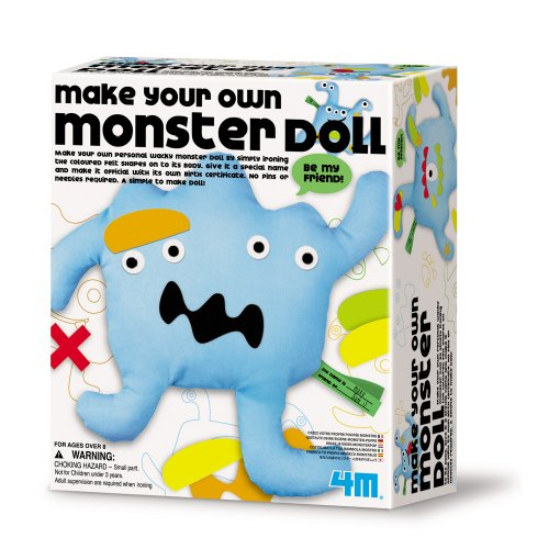 Make Your Own Monster Doll Kit - 1