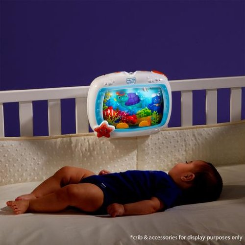 Baby Einstein Sea Dreams Night Soother Crib Bed Light ...