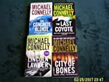 THE LINCOLN LAWYER/THE CONCRETE BLOND/CITY OF BONES/THE LAST COYOTE (HARRY BOSCH SERIES AND MORE)