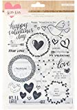 Crate Paper Kiss Kiss Rub on Transfer Sheets