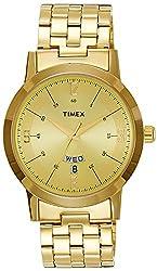 Timex Classics Analog Gold Dial Mens Watch - TI000T117