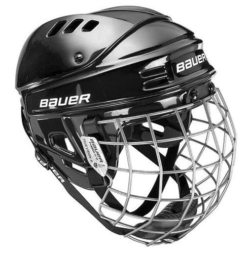 Bauer 1500 Ice Hockey Helmet Combo with Cage - Black Small