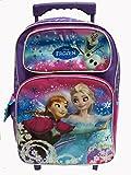 Disney Frozen Elsa & Anna 16 Rolling (Included X1 Plastic Pencil Case)