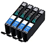 4 Cyan Compatible Canon CLI-551C Printer Ink Cartridge for Canon Pixma iP7250, iP8750, iX6850, MG5450, MG5550, MG6350, MG6450, MG7150, MX725