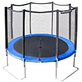 Ultrafit Jumper Trampoline de jardin 305 cm Filet de scurit 4 pieds