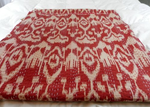 Quilt Designer Bedspreads Christmas Decor Quilt Table Cloth(Red,Twin)