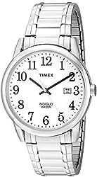 Timex Men's 'Easy Reader' Quartz Stainless Steel Casual Watch (Model: TW2P813009J)
