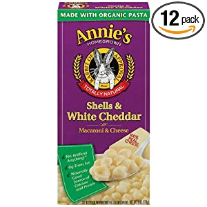 Amazon - Annie's Organic Macaroni & Cheese 12-Packs - $15.16