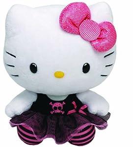 Ty Beanie Babies Hello Kitty Plush, Punk, Medium