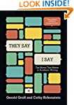"""They Say / I Say"": The Moves That Ma..."