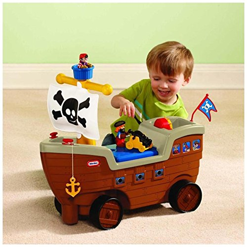 Little Tikes Ride On Toys : Little tikes ride on toys pirate ship baby toddler cannon