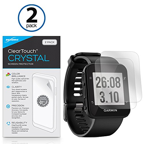 Garmin Forerunner 35 Screen Protector, BoxWave [ClearTouch Crystal (2-Pack)] HD Film Skin - Shields From Scratches for Garmin Forerunner 35 (2 35 Screen compare prices)