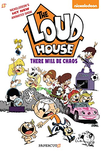 The Loud House #1 There Will Be Chaos [Nickelodeon - Team, The Loud House Creative] (Tapa Blanda)