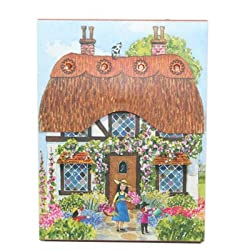 Punch Studio Village Pocket Notepad #86590