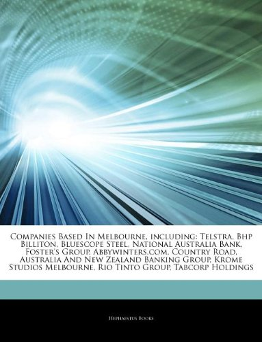 articles-on-companies-based-in-melbourne-including-telstra-bhp-billiton-bluescope-steel-national-aus