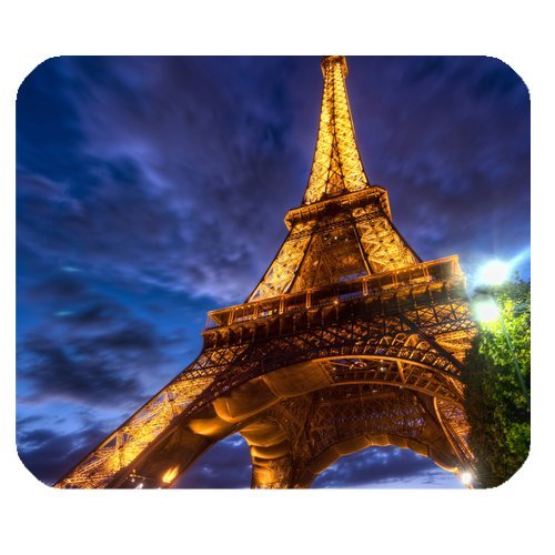 Eiffel Tower Rectangle Mouse Pad - Only Z Mouse