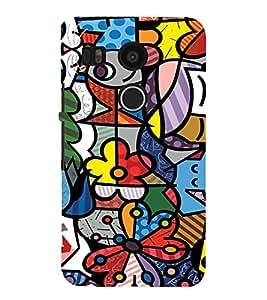 EPICCASE Funky art Mobile Back Case Cover For LG Nexus 5x (Designer Case)