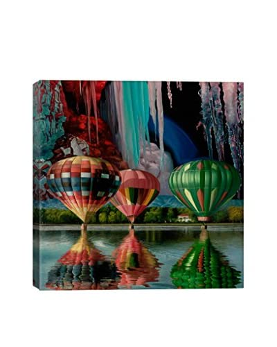 Splendor Falls Gallery Wrapped Canvas Print