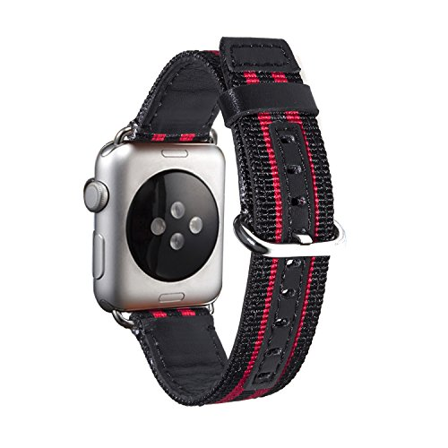 apple-watch-braceleteh-he-42mm-mode-nylon-band-avec-fermoir-metallique-remplacer-dapple-watch-bracel
