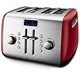 KitchenAid KMT422ER 4-Slice Toaster, Empire Red