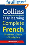 Easy Learning French Grammar, Verbs a...