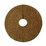 Pepper Agro Biodegradable Coco Fiber Mulch 10-inch 10 Piece Weed Mat Set