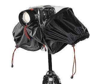 Kata Pro-light E-705 Rain Cover for DSLR Cameras up to 70-200mm Lens, Black