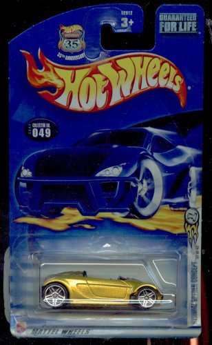 Hot Wheels 2002-049 35th Anniversary 37 of 42 Hyundai Spyder Concept 1:64 Scale - 1