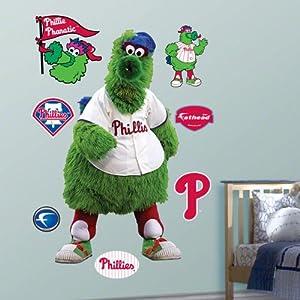 MLB Philadelphia Phillies Phillie Phanatic Mascot Wall Graphic