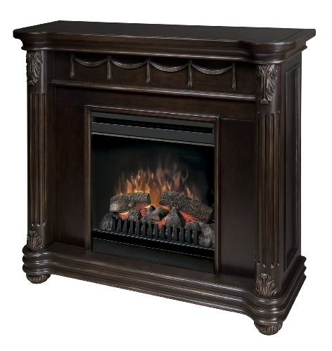 Dimplex DFP7823EB Rome Electric Espresso-Bronze Fireplace with 20-Inch Firebox