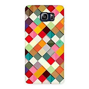 Enticing Color Ribbons Back Case Cover for Galaxy Note 5