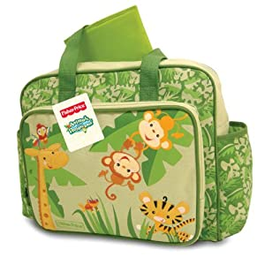 buy fisher price rainforest diaper bag animals of the rain forest online at low prices in india. Black Bedroom Furniture Sets. Home Design Ideas