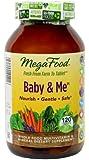 MegaFood Baby & Me Prenatal Vitamins, 120 Count (Premium Packaging)