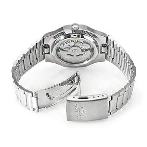 展现机械之美-精工不锈钢机械手表Seiko Men's SNKK57,$48.64