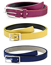 Oleva Ladies Belt combo set of 3 OVD-853